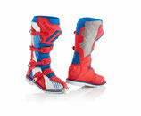 X-PRO V BOOTS - BLUE/RED