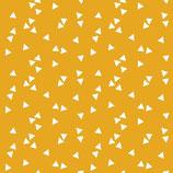 Mund-Nasen-Maske | Dreiecke Gelb