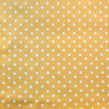 Kindergröße | Mund-Nasen-Maske | Gelb Punkte