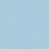 Mund-Nasen-Maske | kleine Punkte Hellblau