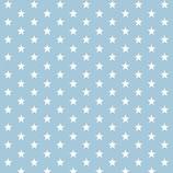 Mund-Nasen-Maske | kleine Sterne Hellblau