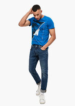 Slim fit, slim leg jeans