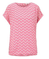 Blouse Printed (Roze)