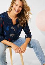 blouse met dierenprint, Laatste maat S !