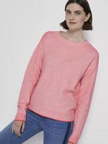 Tweekleurige trui met textuur