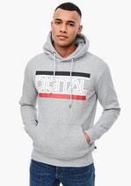 Sweater met print vooraan