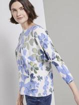Pullover met bloemenprint