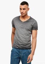 T-shirt met cold pigment dye