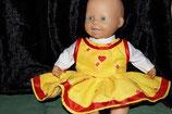 Puppenkleid Valentina Gr. 32-35