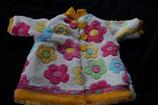 Puppenmantel Blümchen