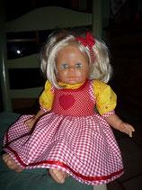 Puppenkleid Heidi