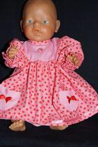 Puppenkleid Annabell Bio Gr. 46/48