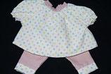 Puppenkleid Frieda Gr. 48-50,Bio