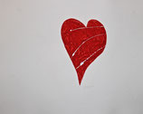 Cuore Rosso 99x81 cm