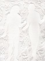 Adamo ed Eva White on White Carborundum 80x120 cm