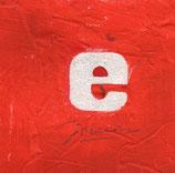 Alfabeto Lettera E