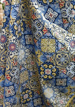Гобеленовая скатерть- Средиземноморье