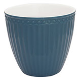 Alice latte cup ocean blue