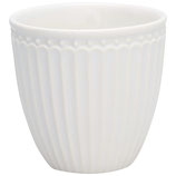 Alice Latte Cup white