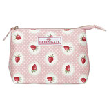 Cosmetic Bag Strawberry pale pink