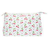 Cosmetic bag Cherrie white large