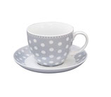 Cup and Saucer grey