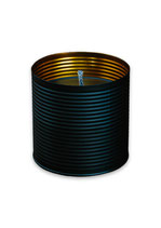 Living by Heart Outdoor Candle black