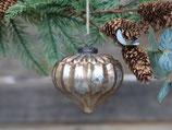 Weihnachtszwiebel antique champagne