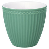 Latte Cup Alice dusty green
