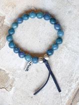 Armband PUUR blauw