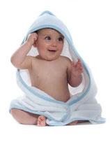 Babykapuzen Handtuch