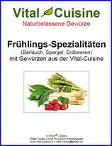 """Rezeptbroschüre """"Frühlings-Spezialitäten"""""""