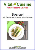"""Rezeptbroschüre """"Spargel"""""""