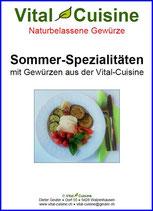"Rezeptbroschüre ""Sommer-Spezialitäten"""