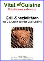 "Rezeptbroschüre ""Grill-Spezialitäten"""
