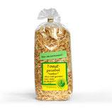 Zwiebel getoastet - ohne Fett geröstet -