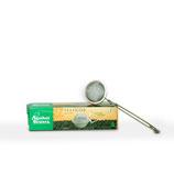 Tee-Zange mit Feder (Teesieb Zick-zack klein)