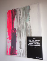 "Margit Anglmaier: Statement Kunst ""It's the small things.."""