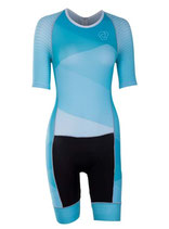 Verge Sport Speed Damen Triathlonanzug kurzarm (Reißverschluss hinten)