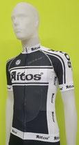 """Aitos  Herren Aero Light Sommer-Radtrikot """"schwarz-weiß"""" kurzarm"""