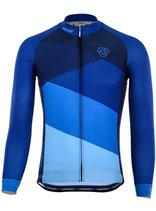 "Verge Sport Herren Core Zima Radtrikot ""Blue Edition"" langarm"