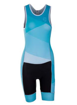 Verge Sport Speed Damen Triathlonanzug (Reißverschluss hinten)