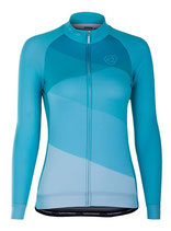 "Verge Sport Damen Core Zima Radtrikot ""Blue Edition"" langarm"