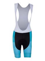 """Verge Sport Damen Core Hose mit Trägern """"Blue Edition"""" kurz"""