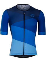 "Verge Sport Herren Speed Radtrikot ""Blue Edition"" kurzarm"