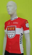 """Verge Sport Core Radtrikot """"Wappen von Köln""""Herren im Relaxed-Cut"""