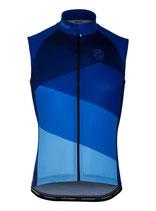 "Verge Sport Herren Flight Weste Pocket ""Blue Edition"" Fitted Cut"