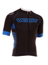 "Verge Sport Herren Strike Radtrikot ""Black Fighter"" kurzarm"