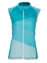 "Verge Sport Damen Flight Weste Pocket ""Blue Edition"" Fitted Cut"