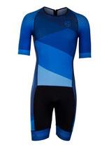Verge Sport Speed Herren Triathlonanzug kurzarm (Reißverschluss hinten)